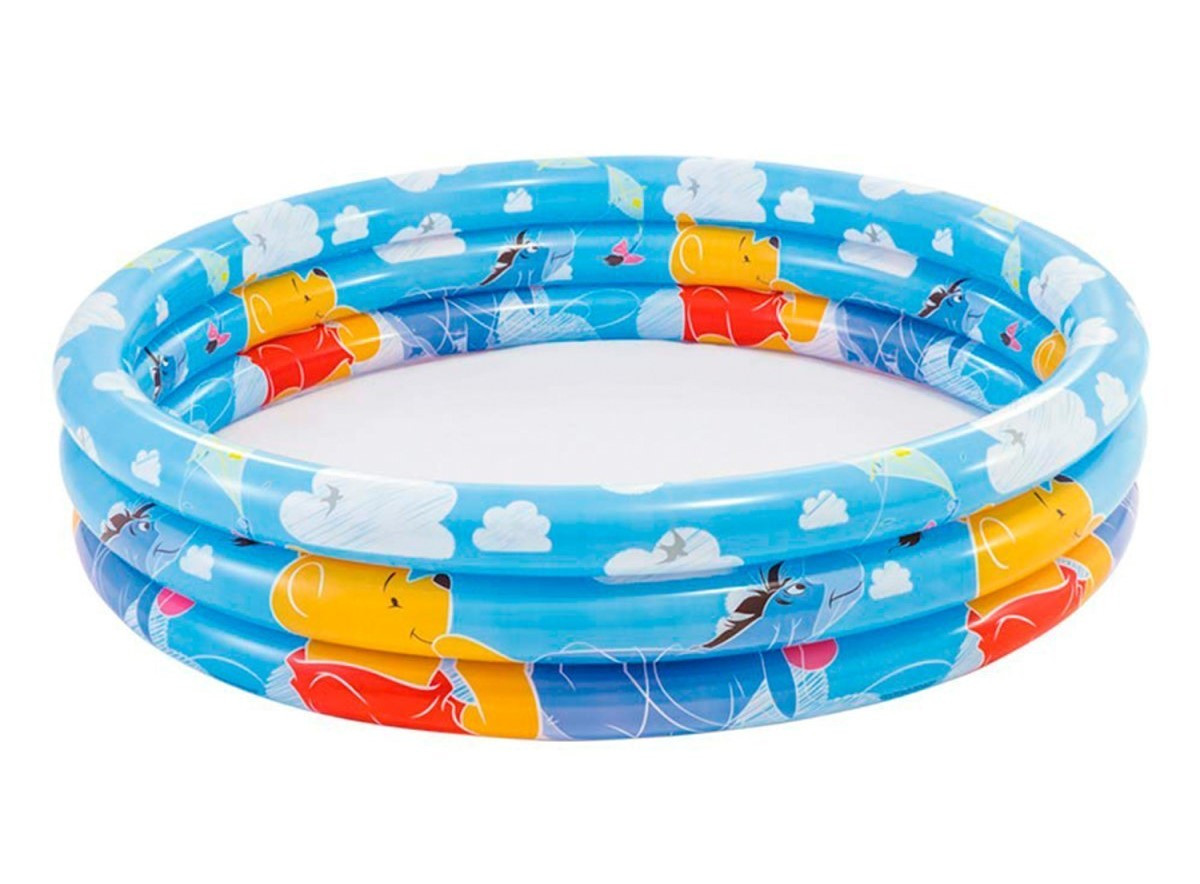 Детский надувной бассейн Intex 58915 «Винни Пух», 147*33 см (разные рисунки)