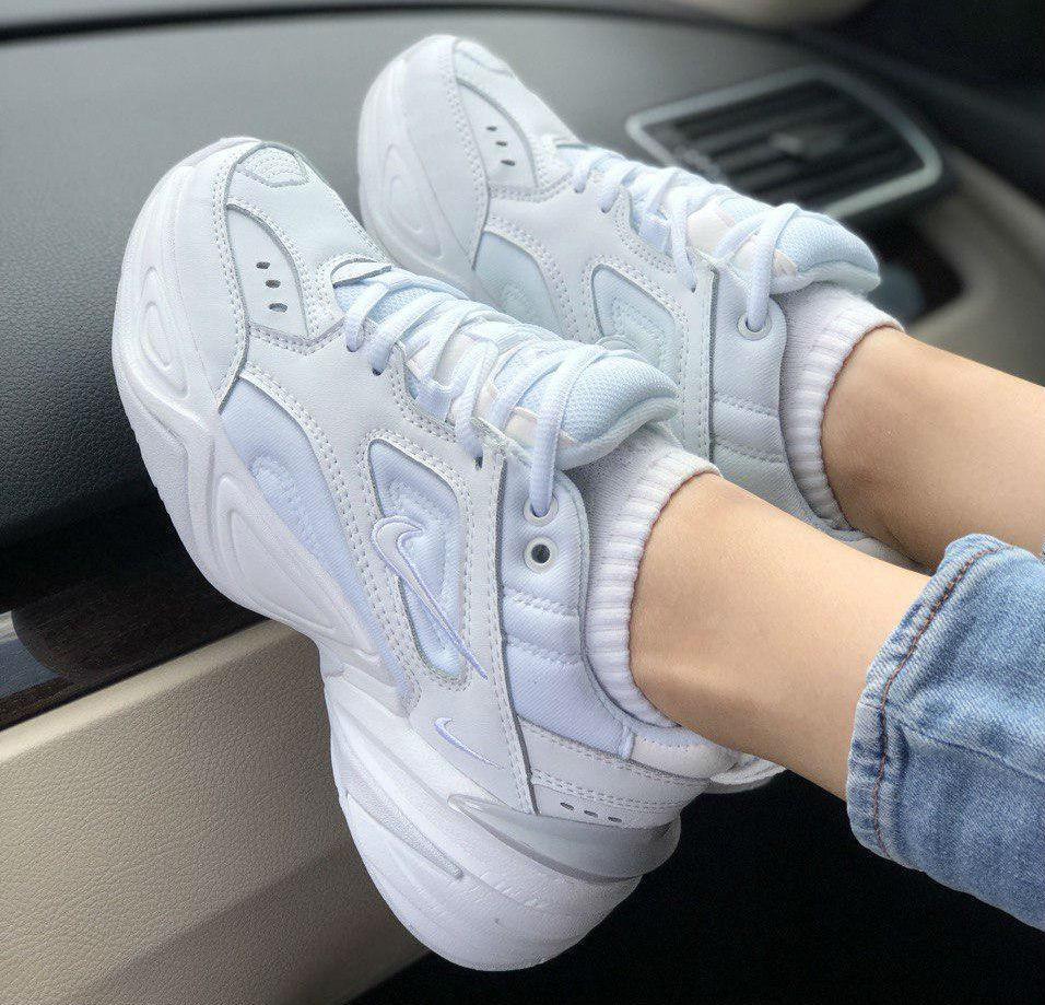 d5aef821 Nike M2K Tekno Mono White | кроссовки женские; полностью белые ...