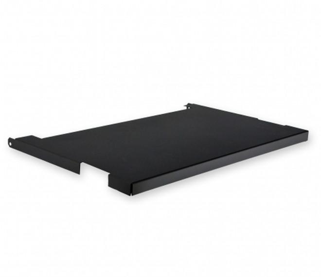 """Крышка для кронштейна настенного 19"""" глубина 480 мм., черная"""
