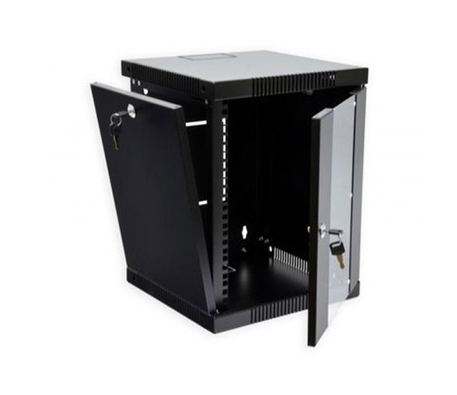 """Серверный шкаф 10"""", 6U, 320х300х335 мм (Ш*Г*В), черный"""