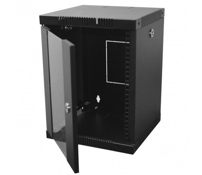 "Телекоммуникационный шкаф 10"", 8U, 320х300х425 мм (Ш*Г*В), черный"