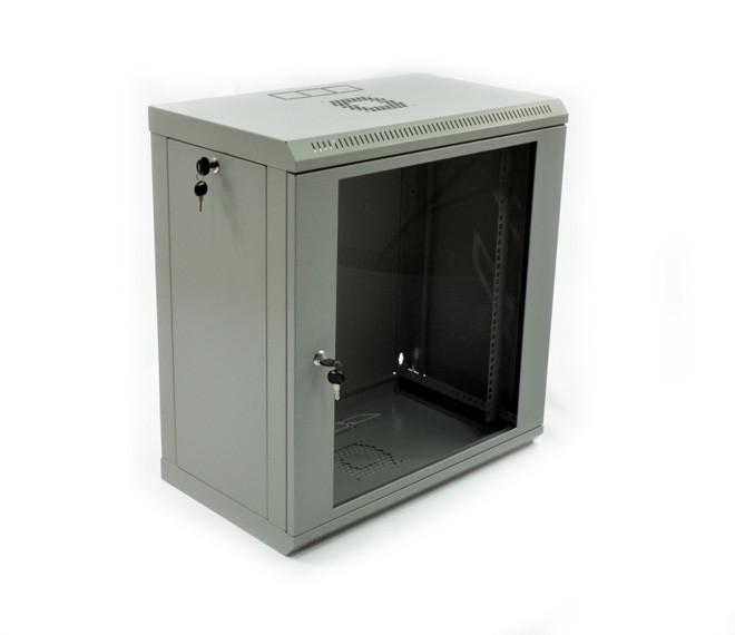Шкаф серверный навесной 12U, 600х350х610 мм (Ш*Г*В), эконом, акриловое стекло