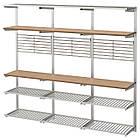 IKEA KUNGSFORS Кухонный стеллаж, нержавеющая сталь, ясень  (292.543.41), фото 2