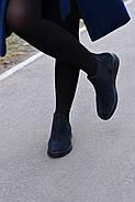 Женские челси InBlue из натуральной замши, фото 4