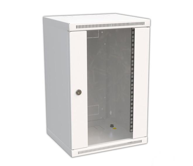 Коммуникационный 10″ шкаф настенный, 9U, глубина 260 мм. REH-09-30/26-B