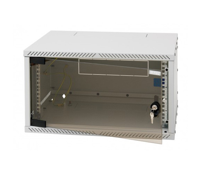 Разборной настенный шкаф Triton 6U (370x600x400)