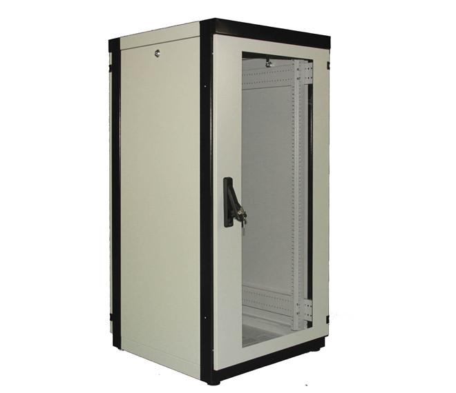 Шкаф напольный Lite Plus 42U-600х1000 (стекло)