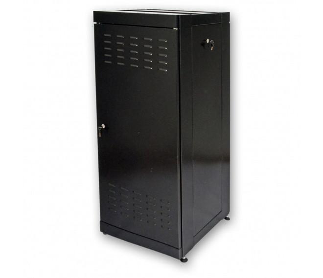 """Шкаф серверный напольный 19"""" 33U, 610х675 мм (Ш*Г), усиленный, черный"""