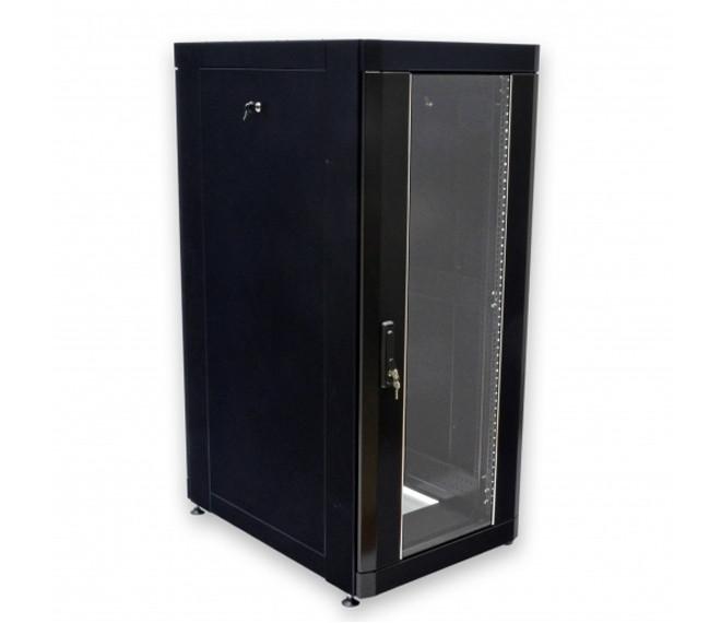 """Шкаф 19"""" 33U, 610х865 мм (Ш*Г), усиленный, черный"""