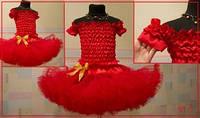 Красная юбка американка