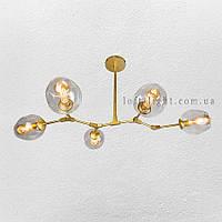 Люстра в стиле современный модерн  (  56-LPR0231-5 GD+CL )