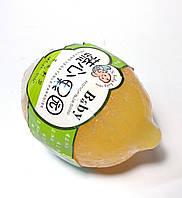 Мыло детское ручной работы,100г, лимон