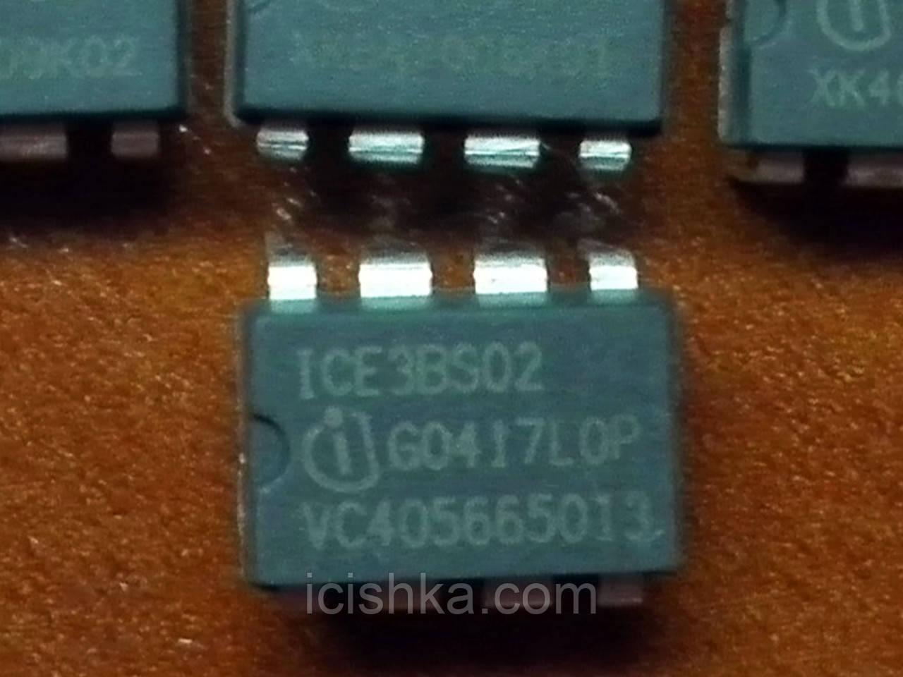 ICE3BS02 DIP8 - высоковольтный ШИМ контроллер ИБП