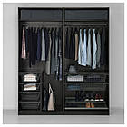 IKEA PAX Шкаф, черно-коричневый, Аули Сэккен  (391.273.62), фото 3