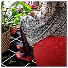IKEA OTTERON/INNERSKAR Пуф, красный  (792.875.65), фото 2