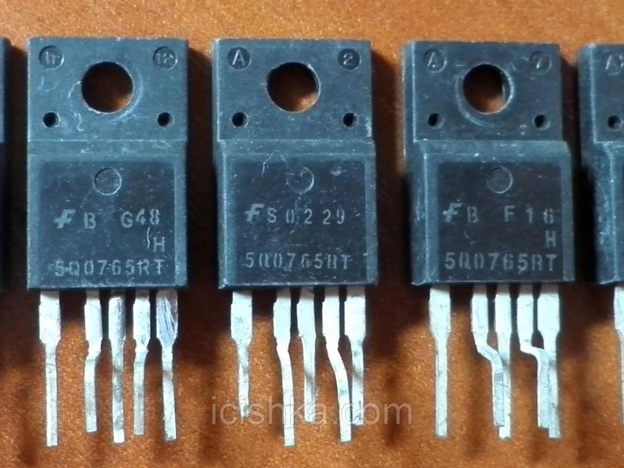 KA5Q0765RT / 5Q0765RT TO220-5 - ШИМ контроллер для ИБП тюнера (refurb)