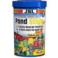 Корм JBL PondSticks 4 in 1, для прудовых рыб, 1л