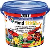 Корм JBL PondSticks 4 in 1 для прудовых рыб 4014600, 5,5л