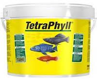 Корм для травоядных рыб Tetra Phyll 10 л