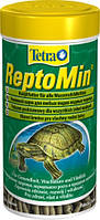 Корм для водных черепах Tetra ReptoMin 1л
