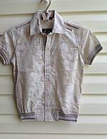 Рубашка для мальчиков с коротким рукавом Летняя