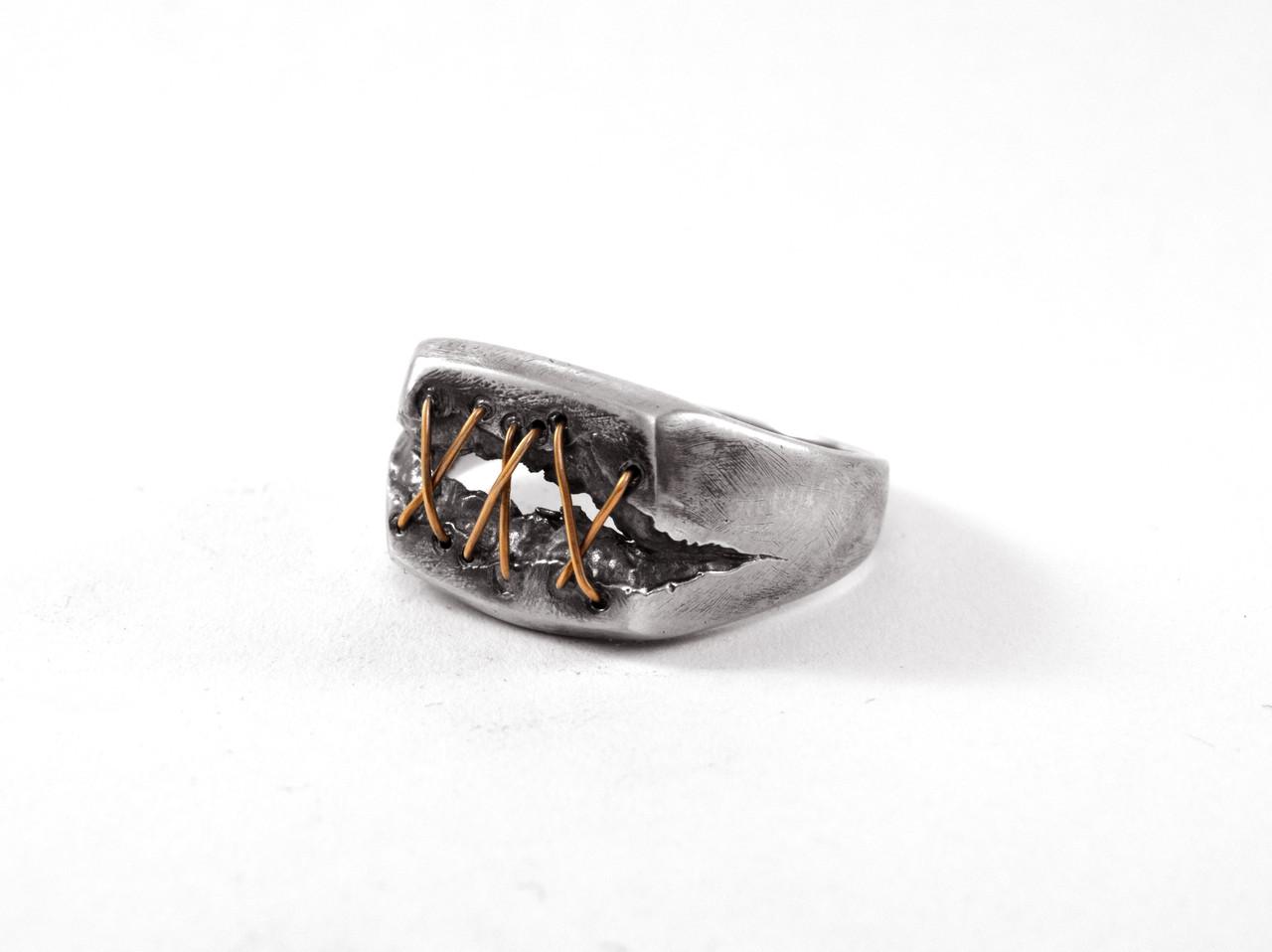 Кольцо из серебра EJ Dr. Lecter Размер 22.5