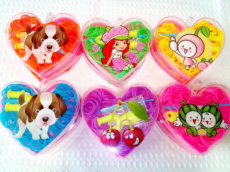 Комплект для плетения браслетов Маленькое Сердечко