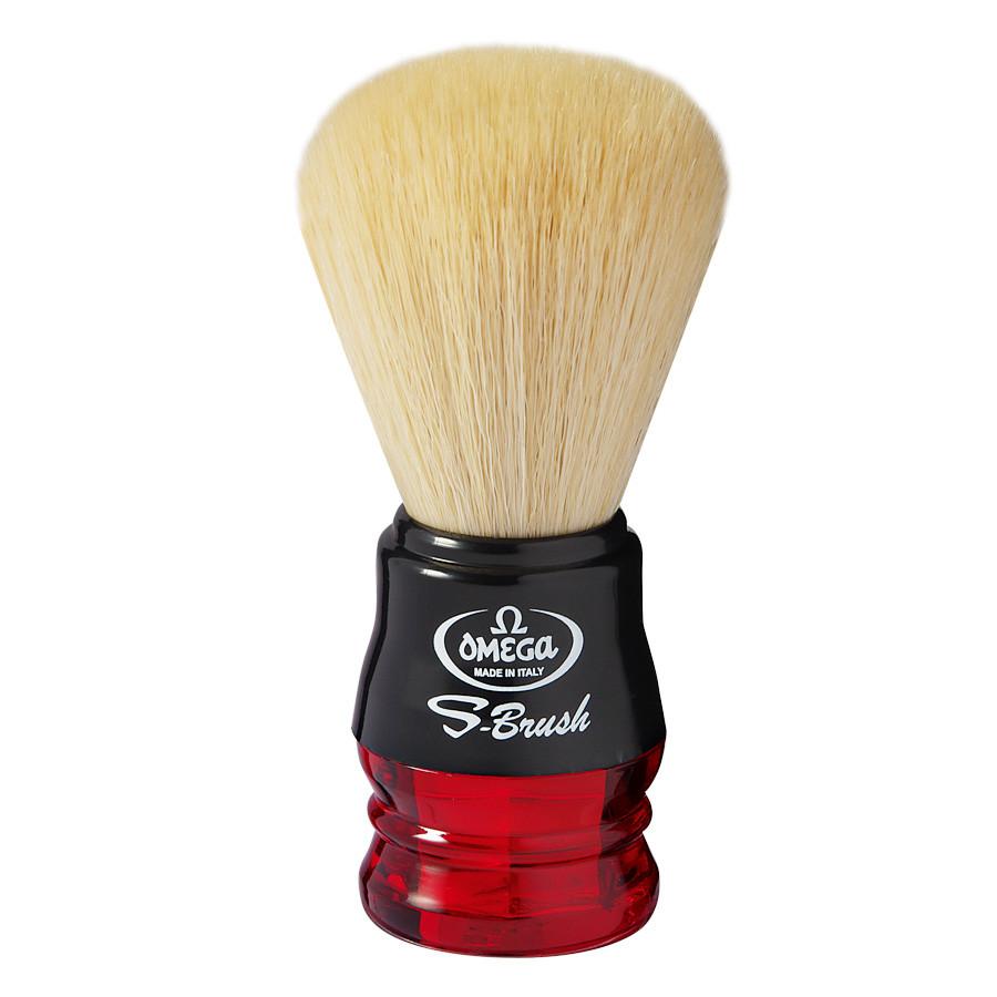 Помазок для бритья Omega S 10077 красный