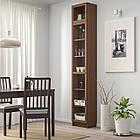 IKEA BILLY/OXBERG Книжный шкаф, коричневый Шпон ясеня, стекло  (992.874.37), фото 2