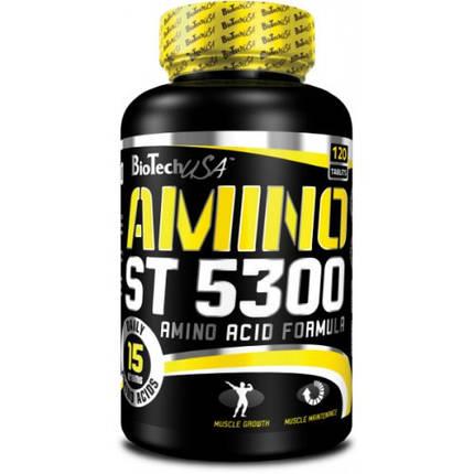 Амінокислоти BioTech Amino ST 5300 120 tabs, фото 2
