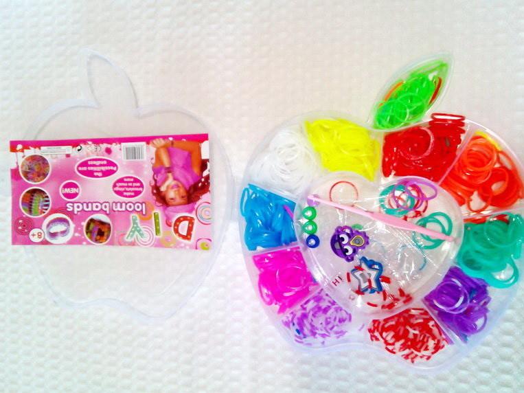 Набор для плетения браслетов Яблочко с листом