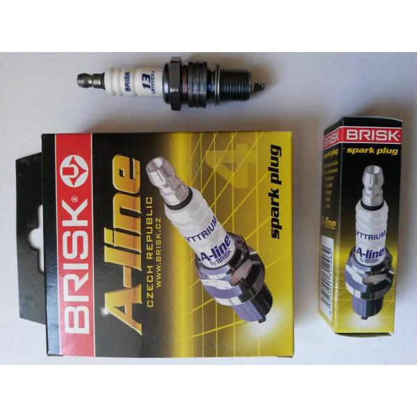 "Свеча зажигания А-LINE 13 LR15YCY-1 ВАЗ 2110, 2111, 2112 8-клап. инд.уп.(компл. 4 шт) ""BRISK"". А-LINE 13 LR15YCY-1(0034)"