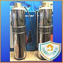Глубинный скважинный водяной насос для скважин для дома в колодец Водолей БЦПЭ 0,5-32У, фото 7