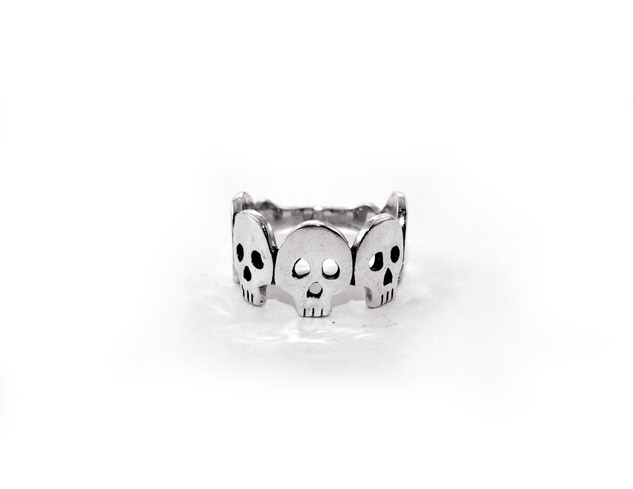 Кольцо из серебра EJ Fiver Размер 16.5