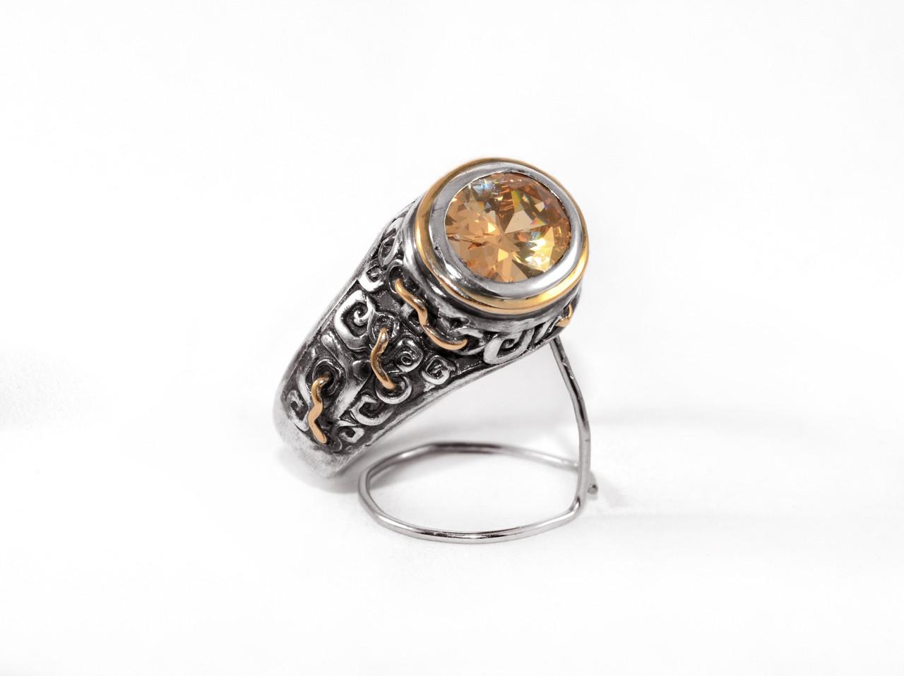 Кольцо из серебра EJ Civilization Размер 19