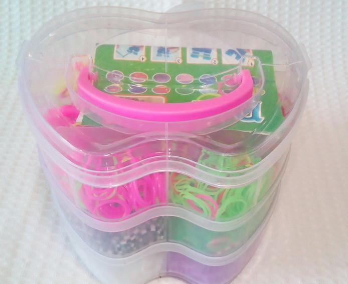 Набор резинок для плетения браслетов Яблоко 3 этажа