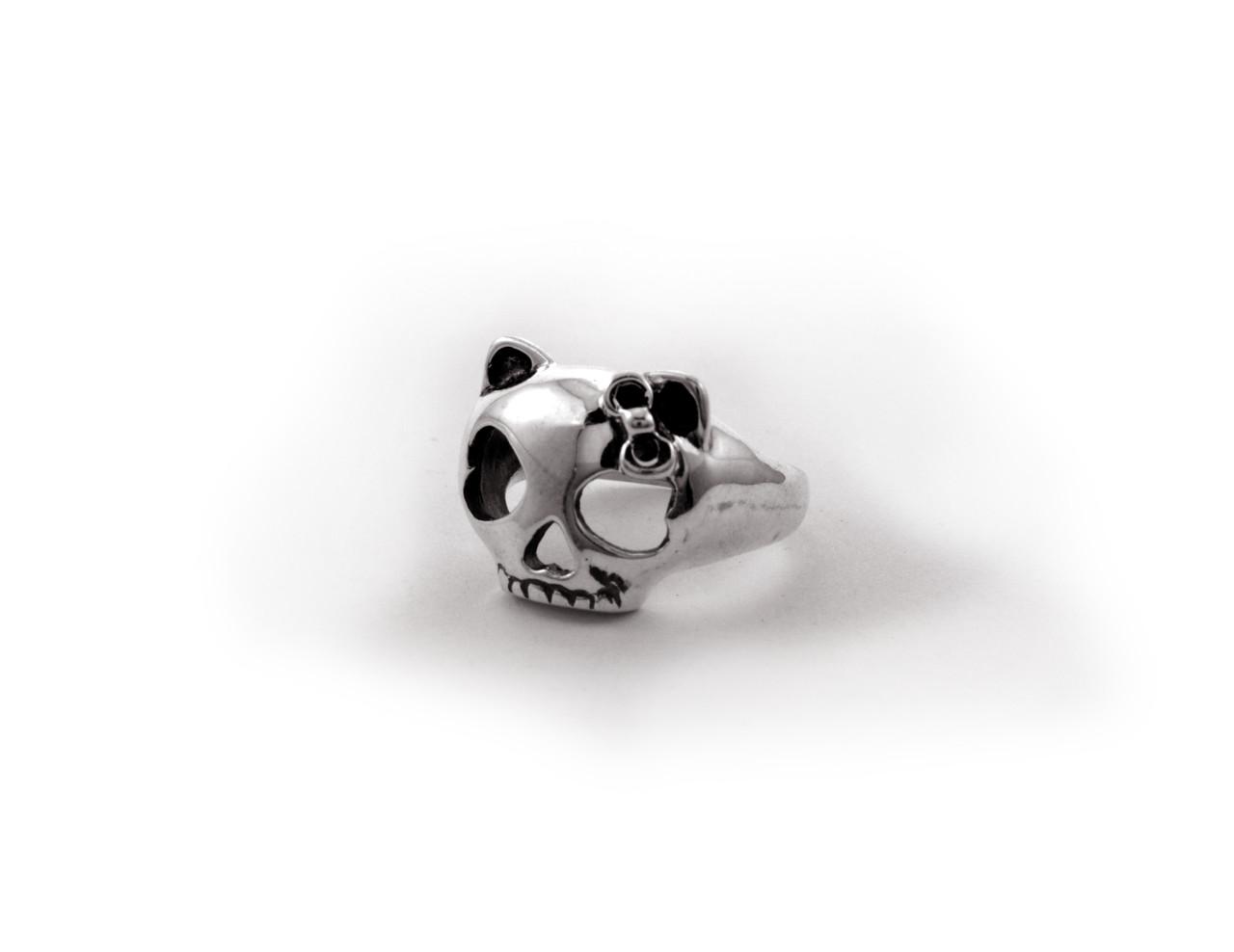 Кольцо из серебра EJ Kitty Dead Размер 21