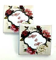 Шоколад для весілля, шоколадні бонбоньєрки. Подарунки гостям на весілля. Весільні бонбоньєрки ( бонбоньерки )