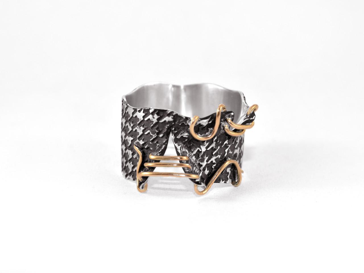 Кольцо из серебра EJ Pull Размер 15