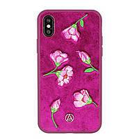 Чехол для iPhone X Luna Aristo - Denise розовый
