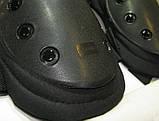 Наколенники и налокотники тактические. (черные), фото 2