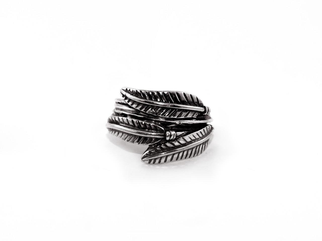 Кольцо из серебра EJ Feathers Размер 16