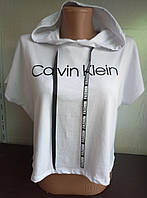 Топ с капюшоном женский CALVIN KLEIN (ПОШТУЧНО), фото 1