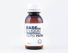 Жидкость-база для электронных сигарет Addicting Juice Traditional 0 мг 30/70 100 мл