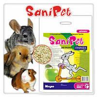 Наполнитель SaniPet, для грызунов, яблоко, 2,5кг