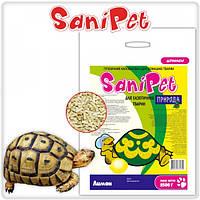 Наполнитель SaniPet, для экзотических животных, лимон, 5 кг