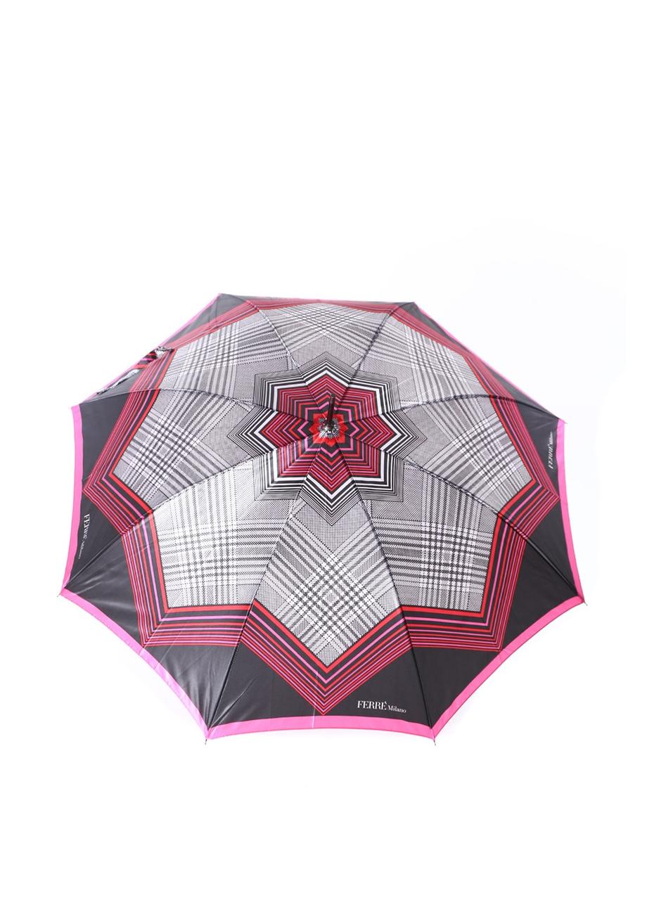Зонт-трость Gianfranco Ferre розовый (GR-2)