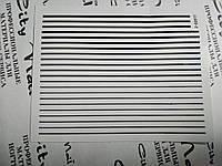 Ленты для дизайна ногтей черная