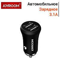Автомобильное зарядное Joyroom F635 mini 2 USB 3.1 A черный