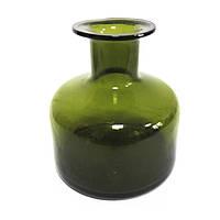 Бутылка декоративная 13 см Зеленая (650918)